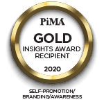 Footer PIMA award 2020 gold